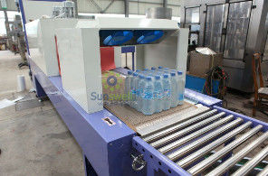 High Speed Shrink Packaging Equipment , PE Film Beverage Wrapping Machinery সরবরাহকারী