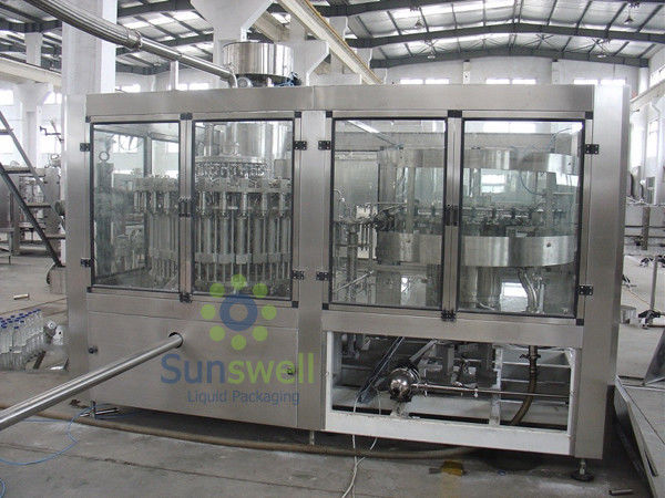 Automatic Juice Hot Filling Machine Stainless Steel With Electric Driven