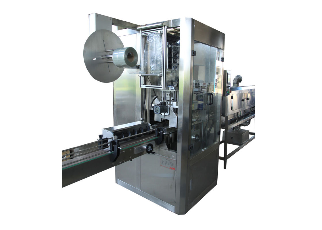 Fully Automatic Round Bottle PVC Film Shrink Sleeve Labeling Machine for Mineral Pure Water Plastic Products Shrink Jar