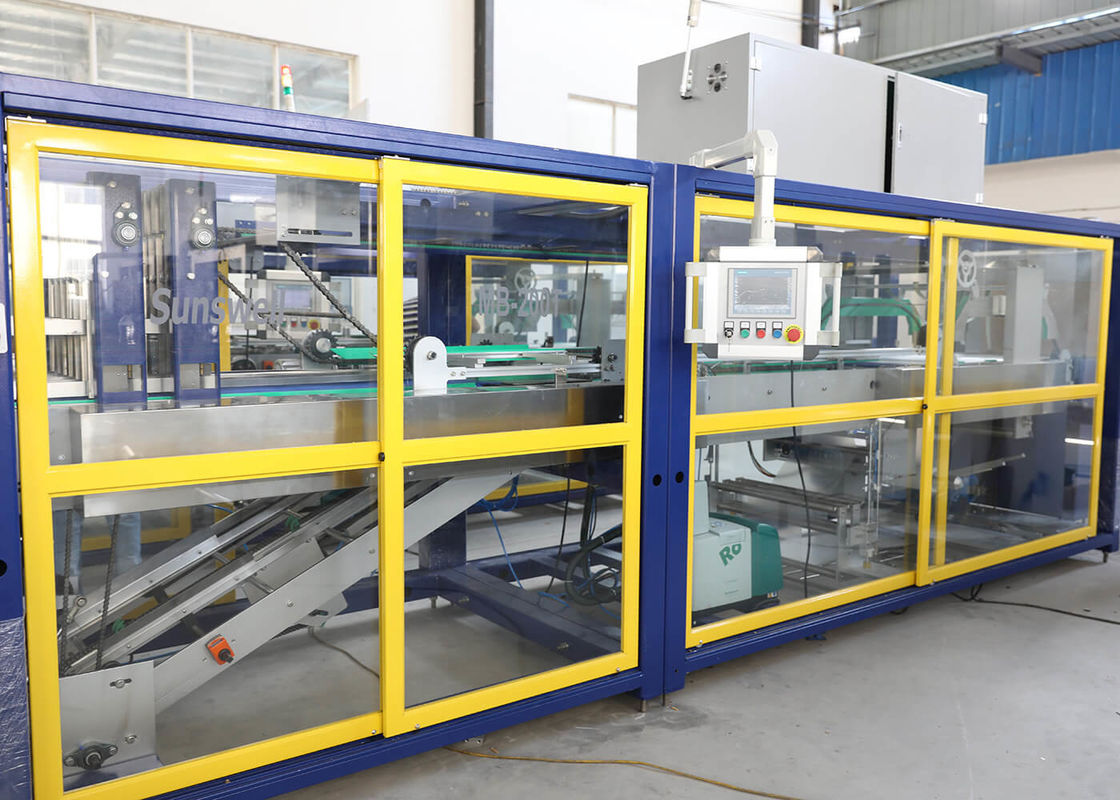 Heat Hot Shrink Plastic Shrink Wrap Machine Fully - Automatic For Bottles , Cans