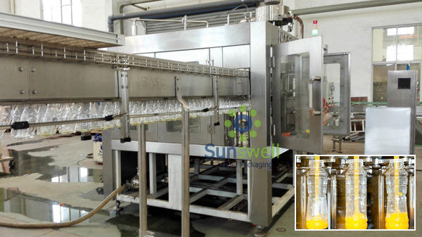 Automatic Concentrate Hot Filling Machine Drinking Juice Production Plant