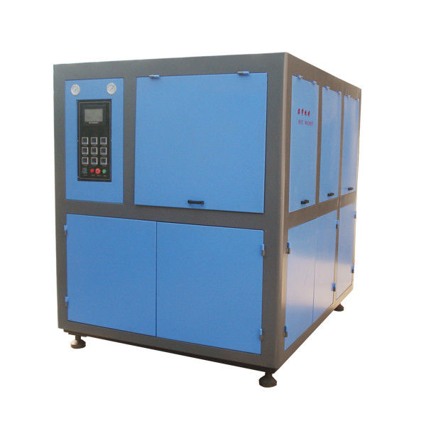 PET Bottle Fully Automatic Blow Molding Machine , Plastic Bottle Manufacturing Machine