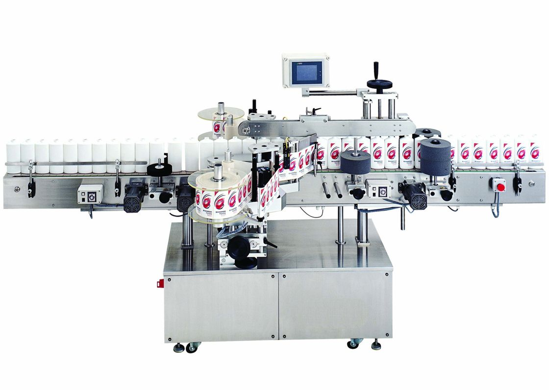 Food and Beverage Automatic cold glue labeling machine for round bottles 380V, 50Hz সরবরাহকারী