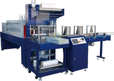 Automatic Plastic Shrink Packaging Equipment Film Wrapping For Detergent / Shampoo