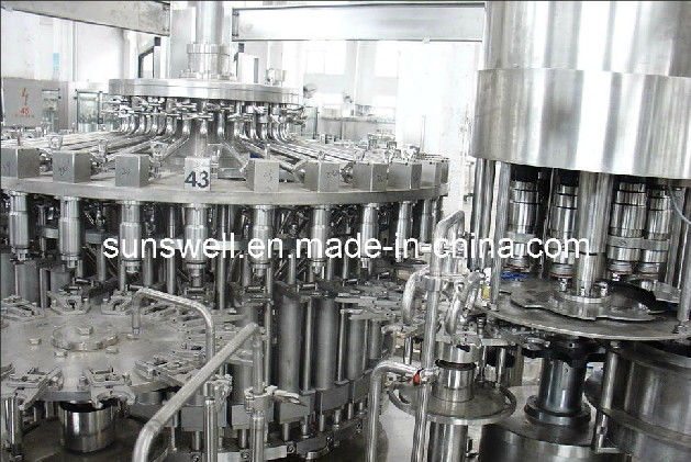 Apple Juice Plant Hot Filling Machine With 3-In-1 Monoblock